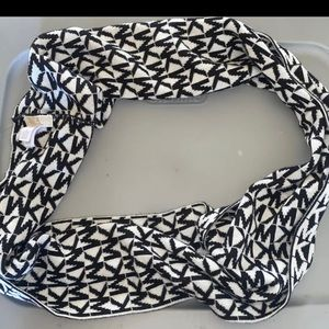 Black and White Michael Kors Scarf